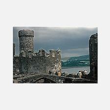 Caernarfon Castle Rectangle Magnet