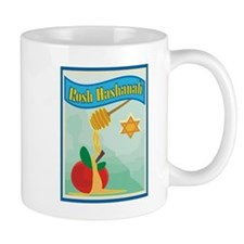 Rosh Hashanah Small Mugs