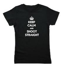 Keep Calm and Shoot Straight Girl's Tee