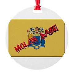 New Jersey Molon Labe Ornament