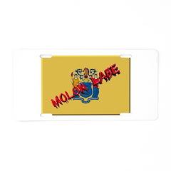 New Jersey Molon Labe Aluminum License Plate