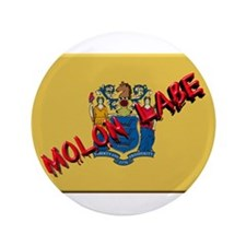"""New Jersey Molon Labe 3.5"""" Button (100 pack)"""