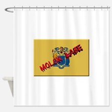 New Jersey Molon Labe Shower Curtain