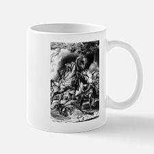 Death of Tecumseh. Battle of the Thames - 1841 Mug