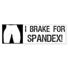 Spandex Bumper Sticker Bumper Bumper Sticker