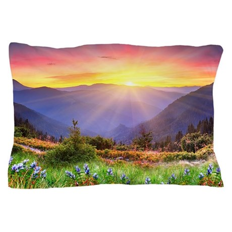 Majestic Sunset Pillow Case