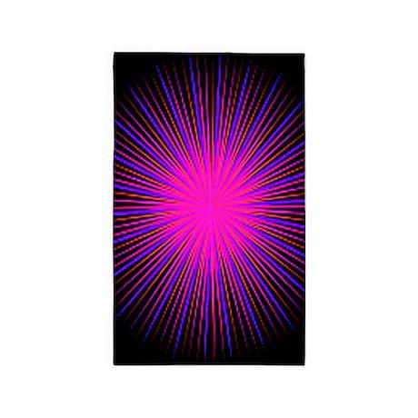 Pink Spirit Circle 3'x5' Area Rug