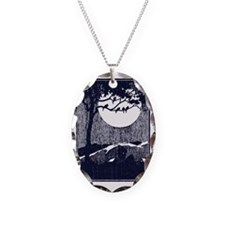 Birds in a Tree by the Full Mo Necklace