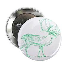 """Green Caribou 2.25"""" Button"""