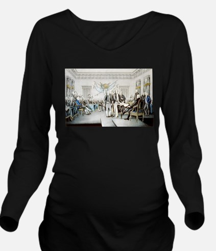 Declaration of Independence - 1856 Long Sleeve Mat