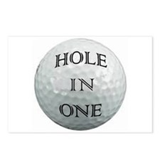 GOLFBALLHOLE.png Postcards (Package of 8)