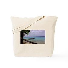 Nice view Curacao pelikan Tote Bag