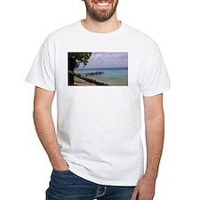 Nice view Curacao pelikan T-Shirt