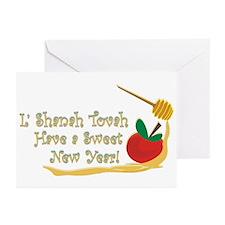 L Shanah Tovah Greeting Cards (Pk of 10)