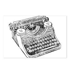 Vintage Underwood Typewriter Postcards (Package of
