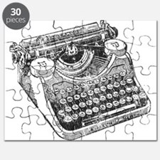 Vintage Underwood Typewriter Puzzle