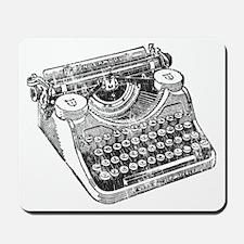 Vintage Underwood Typewriter Mousepad