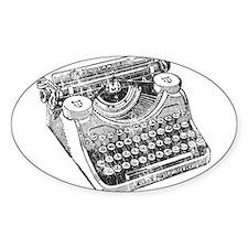Vintage Underwood Typewriter Decal