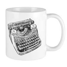 Vintage Underwood Typewriter Small Mug