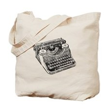 Vintage Underwood Typewriter Tote Bag