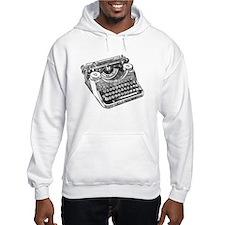 Vintage Underwood Typewriter Hoodie