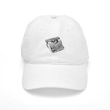 Vintage Underwood Typewriter Baseball Baseball Cap
