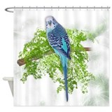 Budgie Shower Curtains