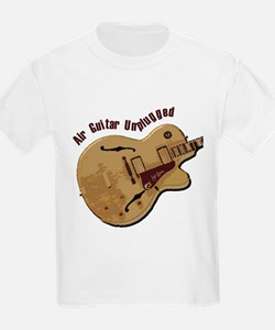 The Unplugged Air Guitar Kids T-Shirt