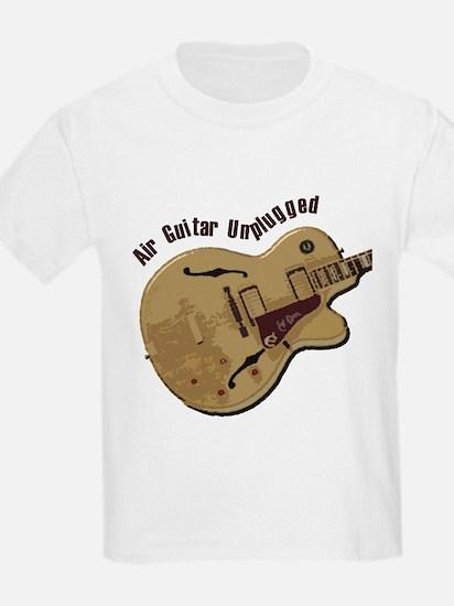 The Unplugged Air Guitar Kids T-Shirt