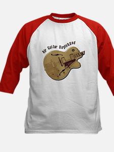 The Unplugged Air Guitar Kids Baseball Jersey