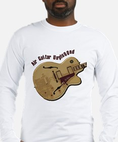 The Unplugged Air Guitar Long Sleeve T-Shirt
