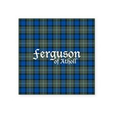 "Tartan - Ferguson of Atholl Square Sticker 3"" x 3"""