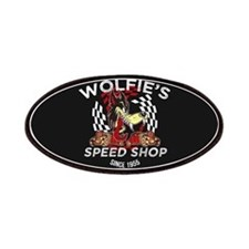 Wolfies Speed Shop Black Patches