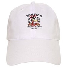 Wolfies Speed Shop Black Baseball Baseball Cap