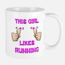 This Girl Likes Running Mug