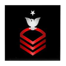Navy Senior Chief Petty Officer Tile Coaster