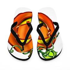 Jack OLantern Flip Flops