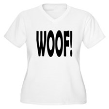 WOOF! Plus Size T-Shirt