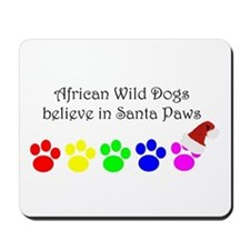 African Wild Dogs Believe Mousepad