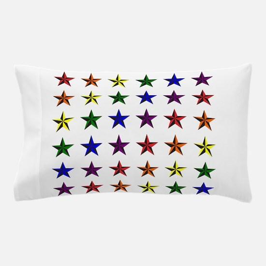 Pride Star Square Pillow Case