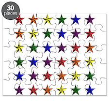Pride Star Square Puzzle