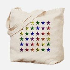Pride Star Square Tote Bag