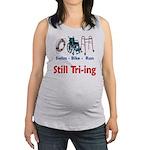 Still Tri-ing Maternity Tank Top