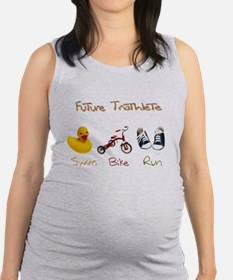 Future Triathlete Maternity Tank Top