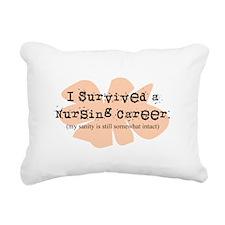 Retired Nurse FUNNY Rectangular Canvas Pillow