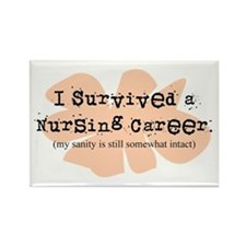 Retired Nurse FUNNY Rectangle Magnet