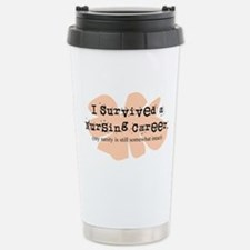 Retired Nurse FUNNY Travel Mug