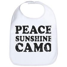 Peace Sunshie Camo Bib