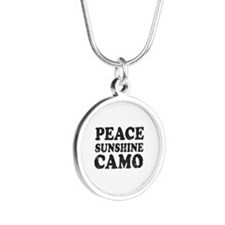 Peace Sunshie Camo Necklaces
