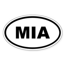 MIA Miami Decal